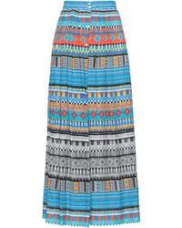 Sara Roka Long Skirt - Blue