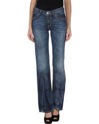 Gaudì Jeans - Denim Trousers - Lyst