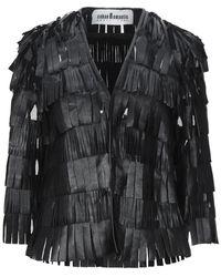 Caban Romantic Blazer - Black