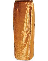 Sid Neigum Long Skirt - Orange