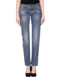 9504da24b0eb8 Lyst - Women s Tejido Jeans