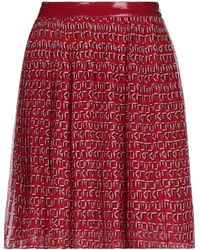 Guess Midi Skirt - Red