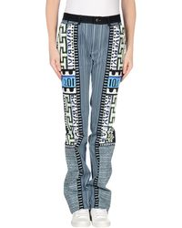 Mary Katrantzou Denim Trousers - Blue
