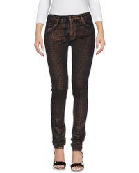 75 Faubourg Denim Trousers - Black
