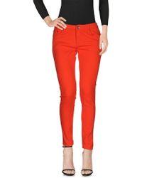Roxy - Denim Trousers - Lyst
