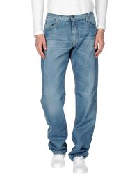 Moschino Jeans - Denim Trousers - Lyst