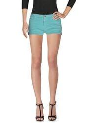 Acquaverde - Denim Shorts - Lyst