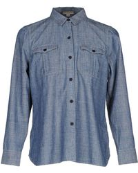 Burberry Brit Denim Shirt - Blue