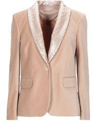 Antonio D'errico Suit Jacket - Natural