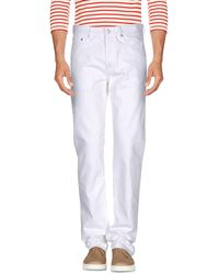Givenchy Denim Trousers - White