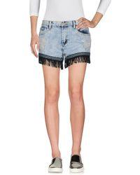 Glamorous Denim Shorts - Blue