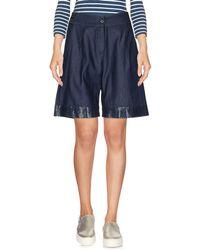 Marani Jeans - Denim Bermudas - Lyst