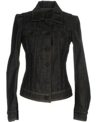 Bottega Veneta Denim Outerwear - Black