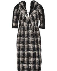 Chanel Manteau long - Noir