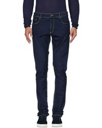 Trussardi Denim Trousers - Blue