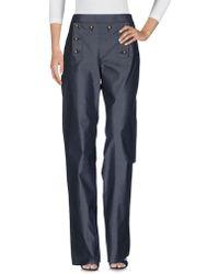 Ferragamo Denim Trousers - Blue