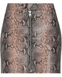 AllSaints - Minifalda - Lyst