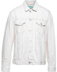 Berna Manteau en jean - Blanc