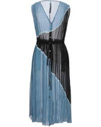 Raquel Allegra Vestito longuette - Blu