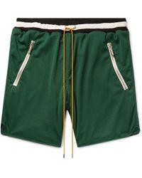 Rhude Bermuda Shorts - Green