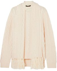 Mother Of Pearl Jumper - White