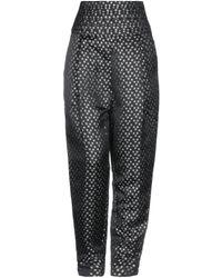 WEILI ZHENG Trouser - Black