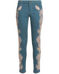 Alice + Olivia Pantaloni jeans - Blu