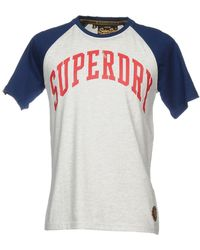 Superdry Camiseta - Gris