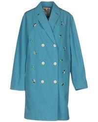 MUVEIL - Overcoat - Lyst