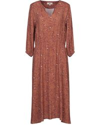Mkt Studio Midi Dress - Brown