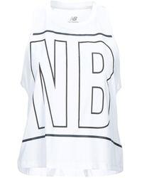 New Balance Vest - White