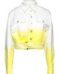 Unravel Project Denim Outerwear - Yellow