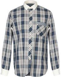 4328745e Lyst - Junya Watanabe Shirt in Blue for Men