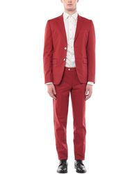 Brian Dales Suit - Red