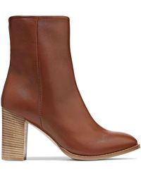 Iris & Ink Ankle Boots - Brown