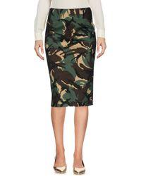 L'Autre Chose - Knee Length Skirt - Lyst