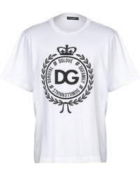 Dolce & Gabbana - Logo T-shirt - Lyst