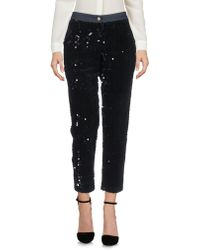 Roseanna Casual Trousers - Black