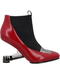 United Nude Ankle Boots - Red
