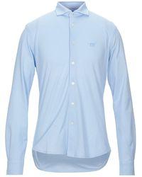 Henry Cotton's Shirt - Blue