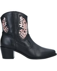 Sophia Webster Ankle Boots - Black