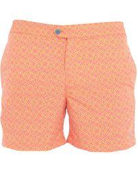 Coast Society Swim Trunks - Orange