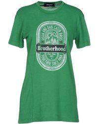 DSquared² T-shirt - Vert