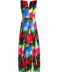 MILLY Long Dress - Blue