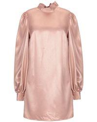 TOPSHOP Short Dress - Pink