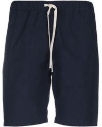 Paolo Pecora Shorts & Bermuda Shorts - Blue
