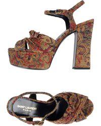 Saint Laurent Sandals - Multicolour