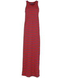 Petit Bateau Long Dresses - Red