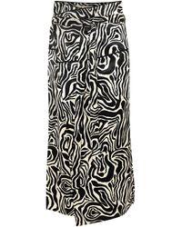 Marni 3/4 Length Skirt - White