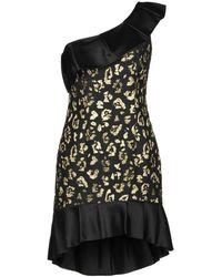 Christian Pellizzari Short Dress - Black